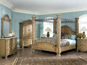 Shore Canopy Beds South Shore Bedroom Furniture Set In Glazed Bisque Finish
