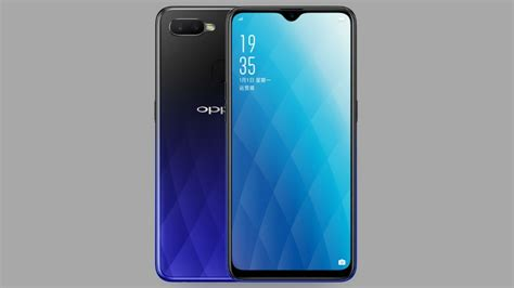oppo ax launched  china  waterdrop notch dual rear