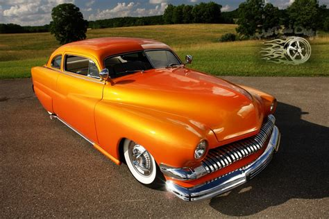 Deep Clean Car Upholstery 1951 Mercury Chopped Rod Custom Sunset Merc For Sale