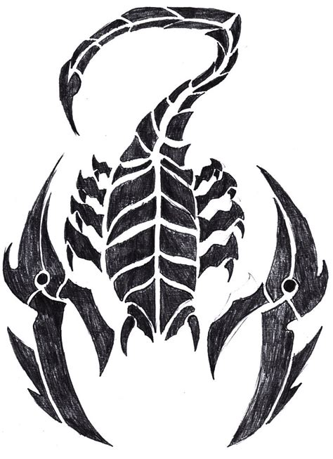 tribal scorpion tattoo designs 5 best scorpion designs and ideas