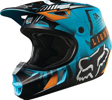 youth motocross gear closeout fox racing youth v1 vicious dot mx motocross riding helmet