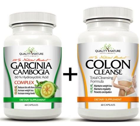 Garcinia Detox Pills by Details About 100 Garcinia Cambogia Colon Cleanse
