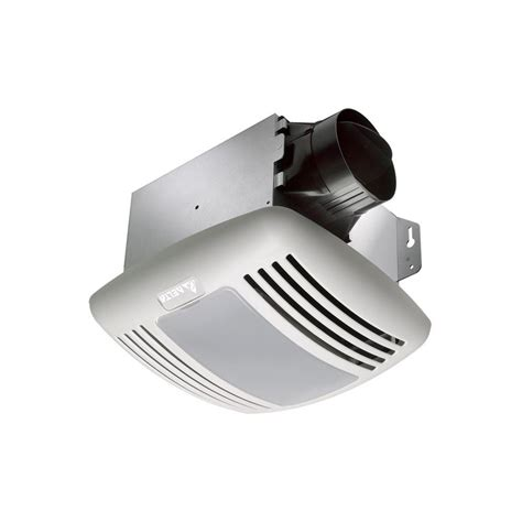 Bathroom Exhaust Fan With Light Installation Hton Bay 80 Cfm No Cut Ceiling Humidity Sensing Bath Fan 7134 01 The Home Depot