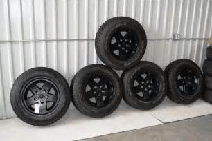 jeep wrangler black wheels oem oem factory wheels rims