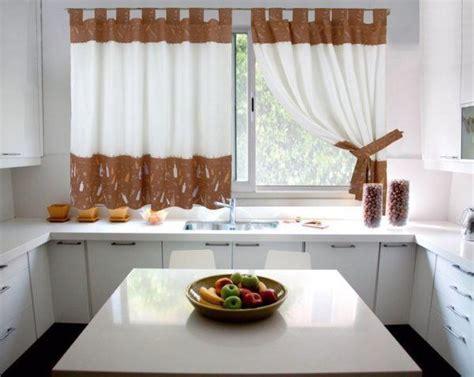 cortinas para la casa fotos de cortinas para la cocina 2019 dise 241 os y consejos