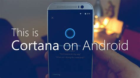 cortana on android this is cortana on android إلكتروني