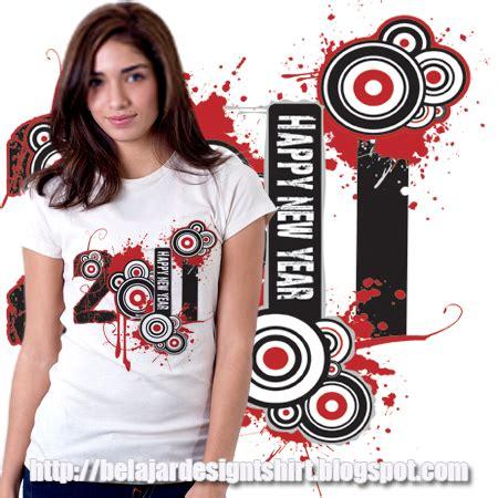 Kaos Happy New Year Mosaik Kaos Tahun Baru koleksi psd desain kaos happy new year 2011