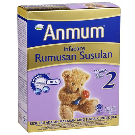 Formula Bayi Anmum Anmum Infacare Step 2 650g Sam S Groceria