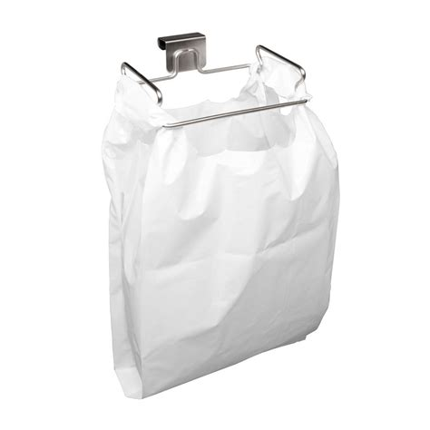 over the cabinet door trash can youcopia over the cabinet door stainless steel plastic bag