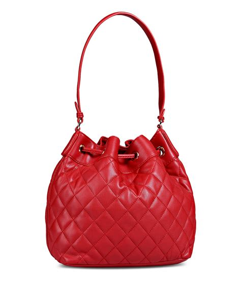 Moschino Bag moschino quilted bag in lyst