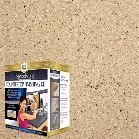 Refinish Countertop Kit by Daich Spreadstone Mineral Select 1 Qt Sundance Countertop