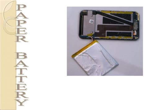 Paper Battery In The Works by Paper Battery