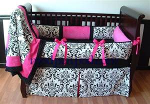 Damask Crib Bedding Set Alexandra Damask Or Boy Custom Crib Bedding Can Be Made In Any Color 119 00