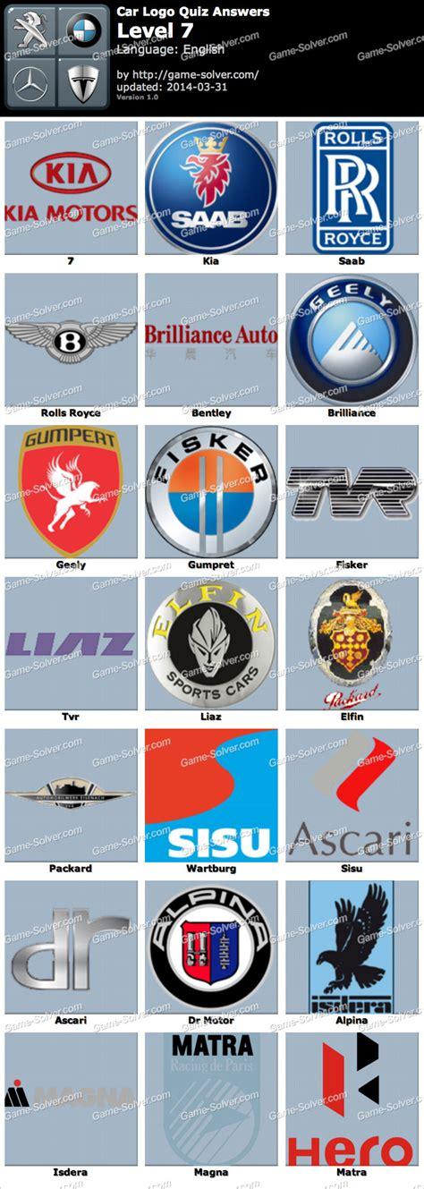 Auto Logo Quiz by Car Logo Quiz Level 7 Solver