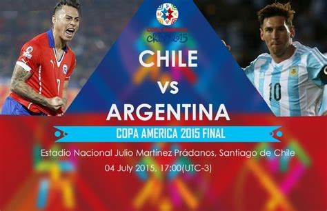 argentina today match result copa america chile vs argentina match 2015