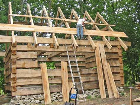 How To Build A Cottage Roof by Log Cabin Roof