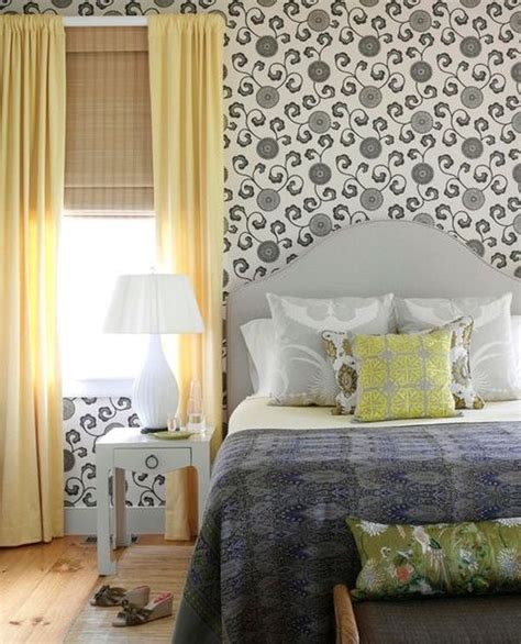 yellow and gray bedroom curtains a trendy color combo grey and yellow perfect for both