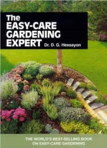 planting gardens in books the garden expert dr david gerald hessayon downs tools