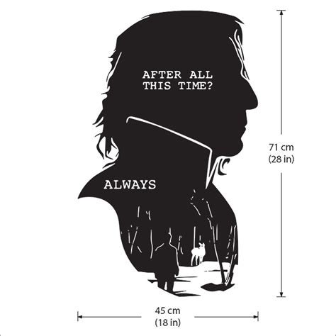 after all this time always tattoo severus snape harry potter after all this time always