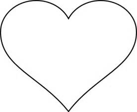 free heart templates to print clipart best