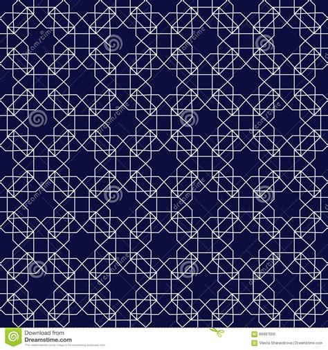 abstract islamic pattern vector islamic ornamental seamless pattern cartoon vector