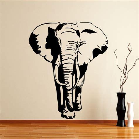 Tree Stickers For Nursery Walls beautiful elephant wall decor ideas theydesign net