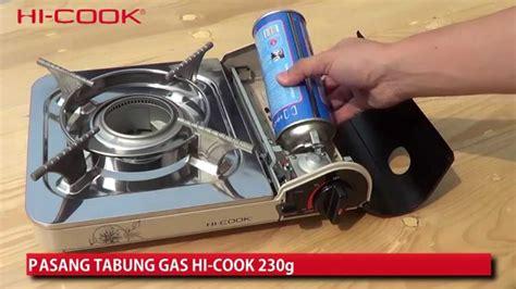 Kompor Gas Portable Hi Cook hi cook kompor portabel kc 110 hi cook portable stove kc 110