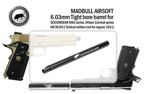 Madunjaya Madbull Socomgear We 1911 Tactical Ver 6 03 Tight Bore Baru socomgear we m1911 tactical ver 6 03 tight bore 187 6
