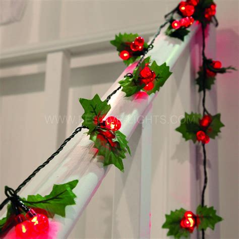 Gamis Lv Pink Berry 2 8m berry garland lights 40 bulbs