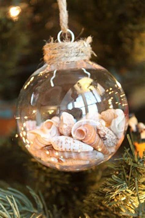 Seashell christmas ornaments crafts car interior design