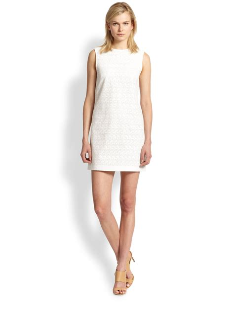 Fashion Perspective Model Debate Its Not All Fashions Fault Second City Style Fashion by Theory Ellice Cotton Eyelet Dress In White Lyst