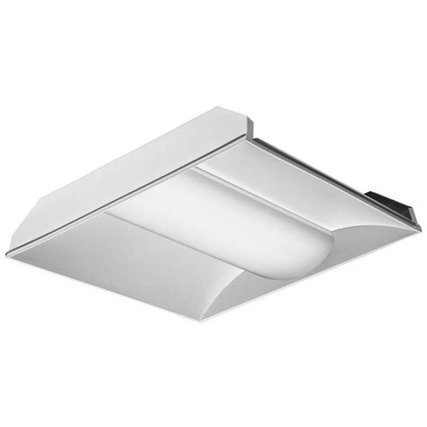 Troffer Light Fixtures Lithonia Lighting 2tl2 33l Rw A19 D38 Lp835 N100 2 Ft X 2 Ft White Led Lensed Troffer 3500k