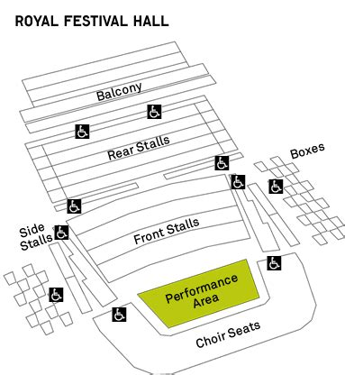 royal festival floor plan royal festival seating plan theatre tickets