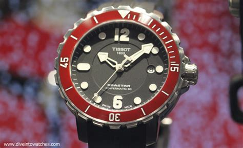 tissot dive watches dive wednesday two swiss made affordable dive