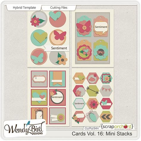 mini greeting cards templates 538 best digi scrap templates other images on