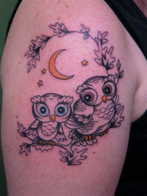 cute owl tattoos 50 baby owl tattoos