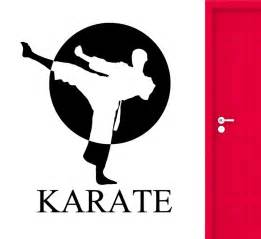 Modern Wall Art Stickers popular karate decorations buy cheap karate decorations