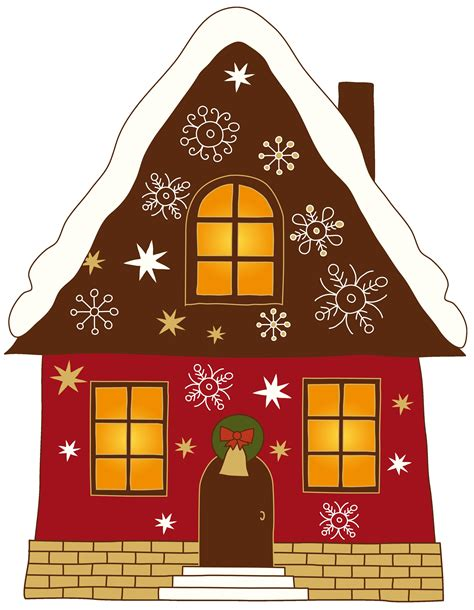 christmas house decorations clip art nice decoration