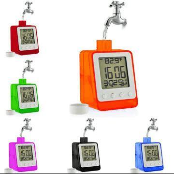 Jam Alarm Tenaga Air Dengan Tempat Pulpen jam meja unik jam meja dengan tenaga air harga jual