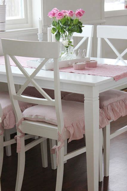 shabby chic whitedining room cushions 225 best images about on