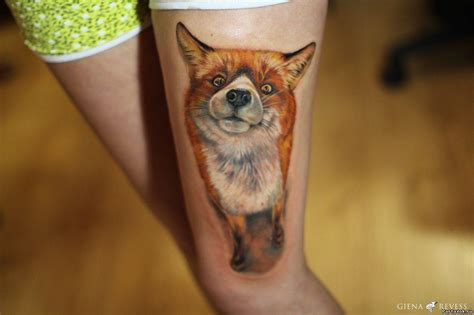 small fox tattoo the gallery for gt small cross on side of wrist