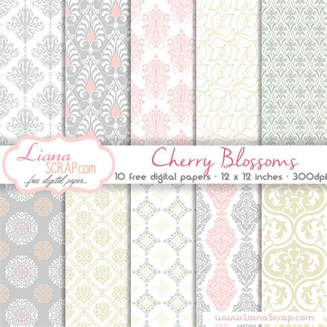 Free Craft Paper Downloads - lianascrap page 3 of 5 free digital paper packs for