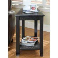 narrow black end table black narrow end table rc willey furniture store