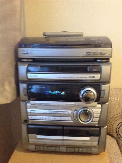 aiwa cassette player aiwa hi fi record player hifi turntable cd