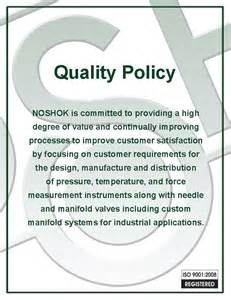 Quality Policy Template by Best Photos Of Quality Policy Template Quality Policy