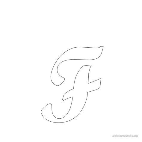 cursive alphabet template cursive letter f laptuoso
