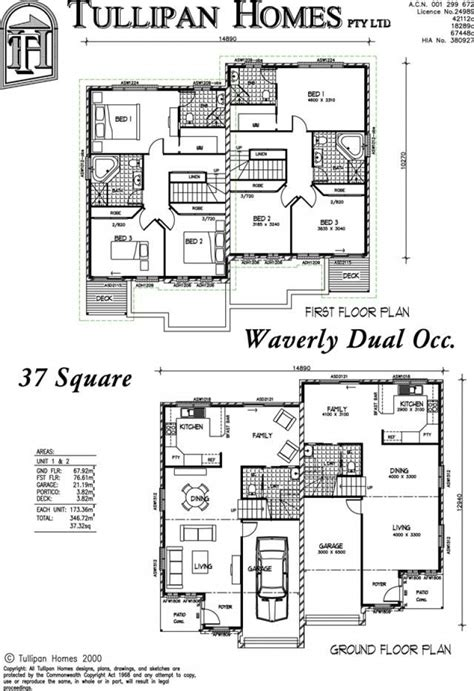 dual occupancy floor plans dual occupancy floor plan unforgettable house general