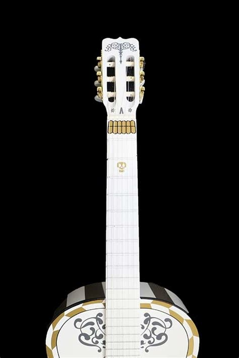 coco guitar up for grabs sing remember me with this special guitar