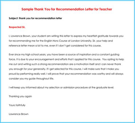 samples of letters recommendation letter for powerful photo