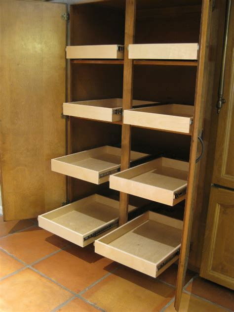 Pantry Sliding Shelves sliding pantry shelves